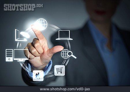 Worldwide, Touchscreen, Data Transfer, E Commerce