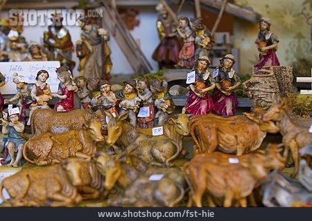 Figure, Wooden Figures, Nativity Scene