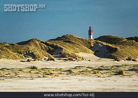Lighthouse, Amrum, Wittduen