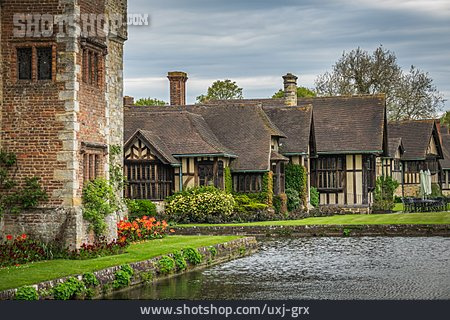 Half Timbered Houses, Kent, Hever Castle
