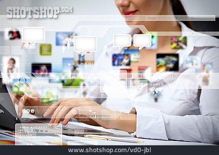 Business, Media, Internet, Network, Online, Workplace, Customer Service