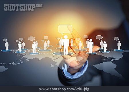 Communication, Chatting, Virtual