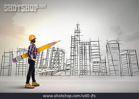 Urban Planning, Architect, Construction Draftswoman