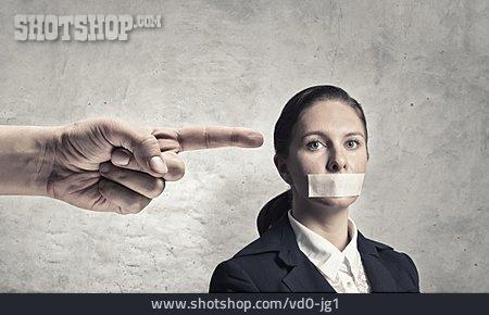 Censorship, Silenced, Speech Ban