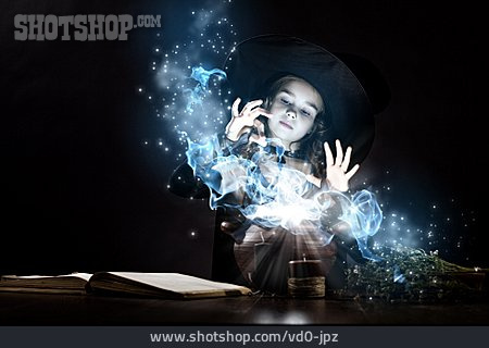 Girl, Fantasy, Witch, Magic, Magic Potion, Spell Book