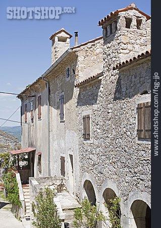 House, Rural Scene, Istria