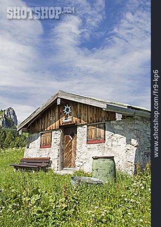 Cabin, Hut, Alp, Tennenalm