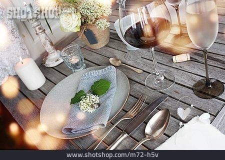 Table Decoration, Place Setting, Festive