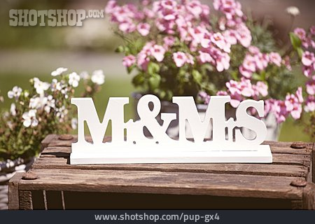 Wedding, Couple, Wedding Decoration