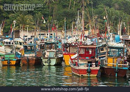 Fishing Port, Mirissa