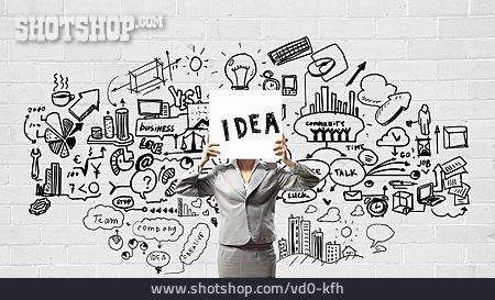Ideas, Sketch, Presentation