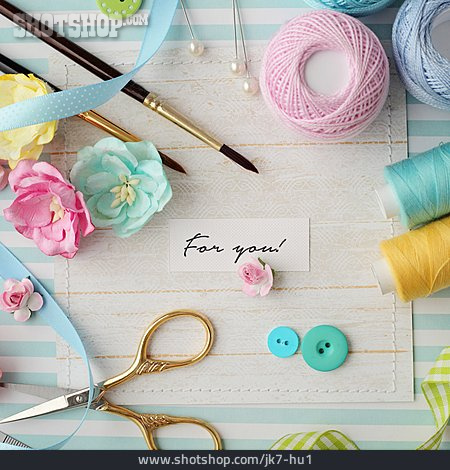 Handicrafts, Birthday Card, For You