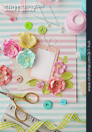 Handicrafts, Label, Greeting Card