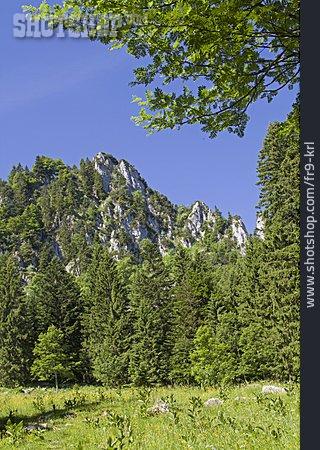 Upper Bavaria, Bavarian Alps, Längentalkopf