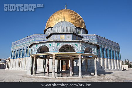 Temple Mount, Dome Of The Rock, Jerusalem
