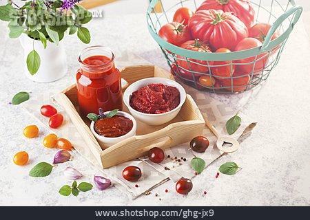 Jam Making, Tomato Harvest, Homemade