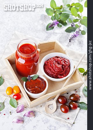 Ketchup, Ingredient, Tomato Sauce, Tomato Paste, Home Made, Salsa
