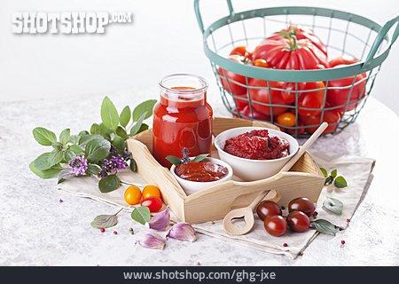 Ketchup, Vegetarian, Homemade, Tomato Paste, Salsa