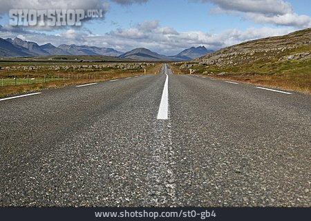 Straight, Road, Wavy