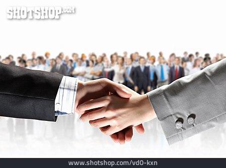 Cooperation, Handshake, Deal
