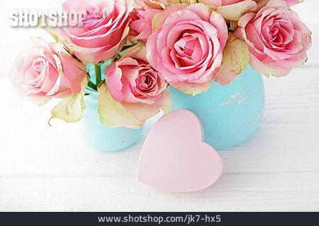 Heart, Rose Bouquet