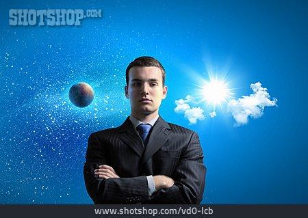 Businessman, Self Confident, Control, Power, Hegemony