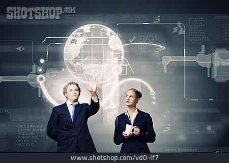 Development, Innovation, Business Partnership, Virtual