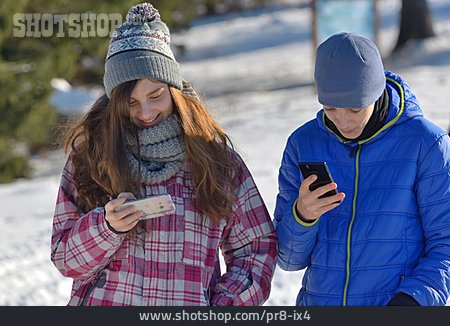Teenager, Sms, Smart Phone