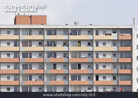 House, Skyscraper, Multifamily, Tenement Block