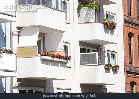 Domestic Life, Apartment, Balconies
