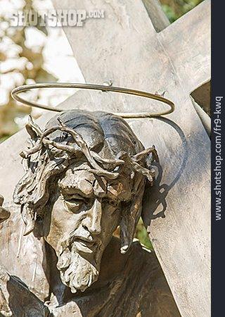 Christianity, Jesus, Bronze Statue