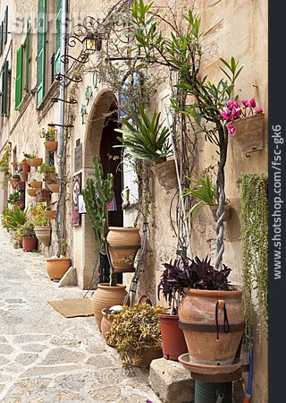 Alley, Terracotta, Mediterran, Valldemossa
