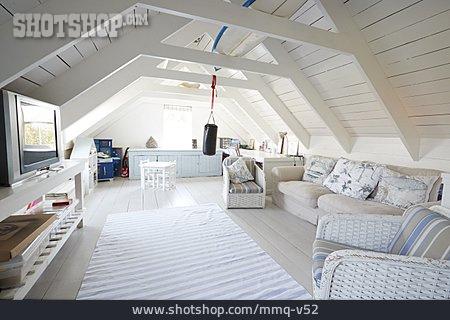 Attic, Living Room