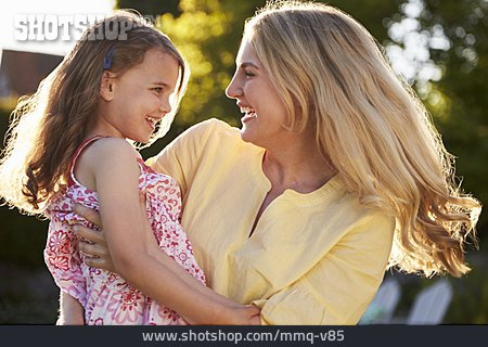 Mother, Happy, Summer, Affection, Daughter