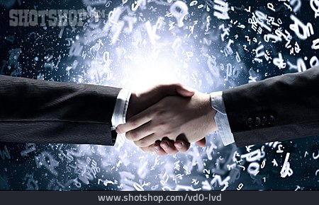 Together, Handshake, Greeting, Agreement