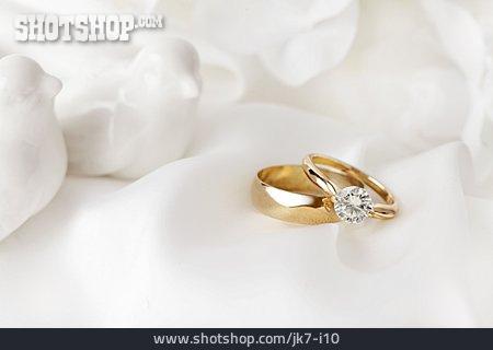 Wedding Rings, Engagement Ring