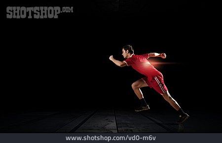 Run, Athlete, Sprinting, Sprinting