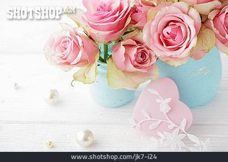 Heart, Bouquet, Valentine