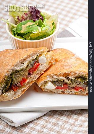 Vegetarian, Sandwich
