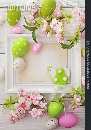 Easter, Easter Decoration, Picture Frame