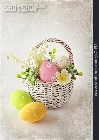Easter, Easter Eggs, Easter Basket, Easter Decoration