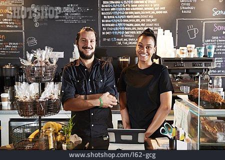 Cafe, Counter, Sales Executive