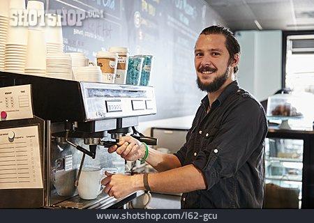 Cafe, Service, Staff, Coffee Shop