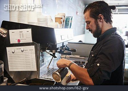 Coffee, Employee, Coffee Shop, To Go