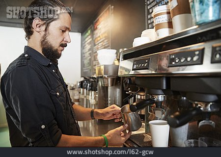 Cafe, Coffee Maker, Coffee Shop, Barista