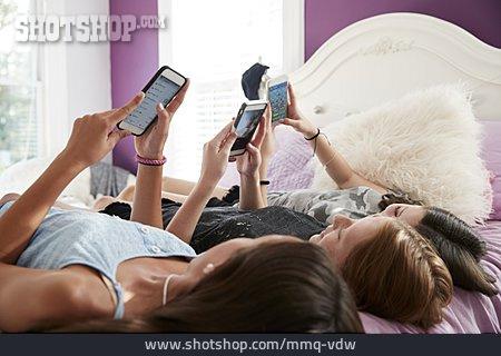 Online, Friends, Smart Phone, Wlan