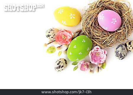 Easter Nest, Easter Eggs