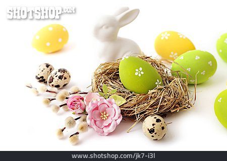 Easter Nest, Easter Bunny, Easter Eggs