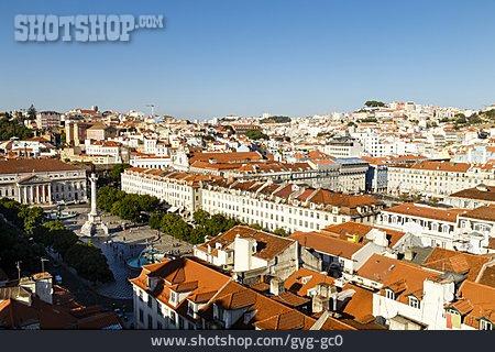 City View, Lisbon, Baixa