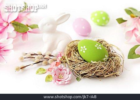 Easter, Easter Egg, Easter Nest, Easter Bunny